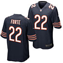 Chicago Bears Matt Forte Game Team Color Jersey