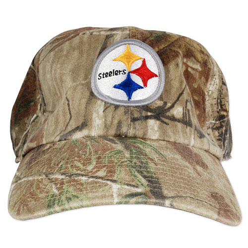 Pittsburgh Steelers Camo Cleanup Adjustable Cap 918a7fe87