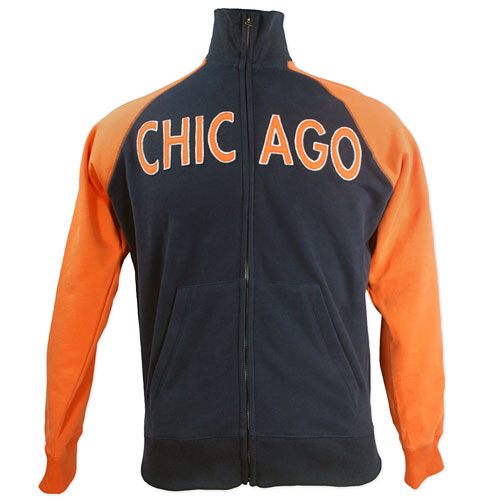 best service c3e02 b6be4 Chicago Bears Tri-State Track Jacket