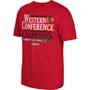 Chicago Blackhawks 2015 Western Conference Champions Tri-Blend T-Shirt