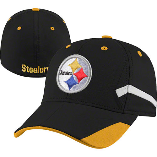 3818ec1a Pittsburgh Steelers Youth Stadium Structured Flex Fit Hat