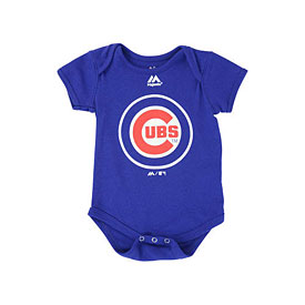 Chicago Cubs Infant Primary Logo Creeper