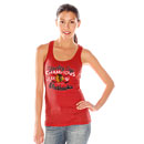 Chicago Blackhawks Ladies 6-Time Stanley Cup Champions Tank Top