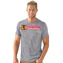 Chicago Blackhawks 6-Time Stanley Cup Champions Tri-Blend T-Shirt