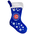 Chicago Cubs Snowflake Stocking
