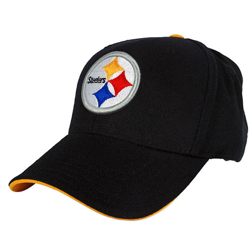 84473d75 Pittsburgh Steelers Youth Basic Logo Adjustable Cap