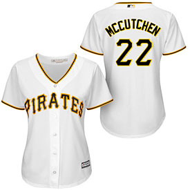 Pittsburgh Pirates Andrew McCutchen Ladies Home Cool Base Replica Jersey