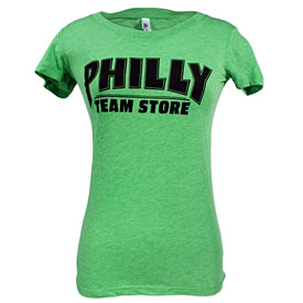 Philly Team Store Ladies Green T-Shirt