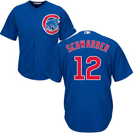 Chicago Cubs Kyle Schwarber Alternate Cool Base Replica Jersey