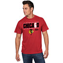Chicago Blackhawks 6-Time Stanley Cup Champions CHICA60 T-Shirt