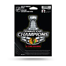 Chicago Blackhawks 2015 Stanley Cup Champions Window Decal