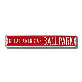 Cincinnati Reds Big Red Machine Dr. Street Sign