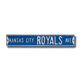Kansas City Royals Ave. Street Sign