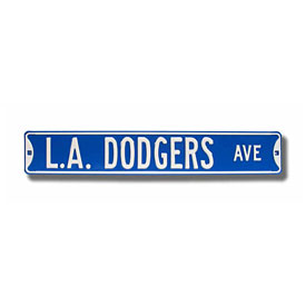 Los Angeles Dodgers Ave. Street Sign