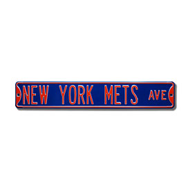 New York Mets Ave. Royal Blue Street Sign
