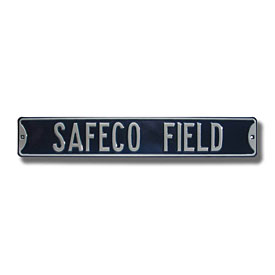 Seattle Mariners Safeco Field Street Sign