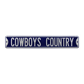 Dallas Cowboys Country Street Sign