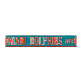 Miami Dolphins Ave. Street Sign