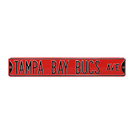 Tampa Bay Buccaneers Ave. Street Sign