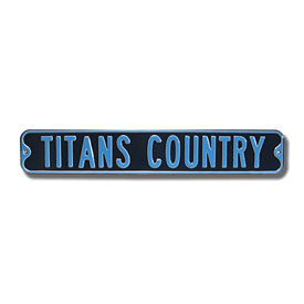 Tennessee Titans Country Street Sign