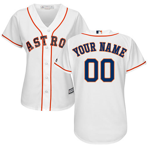 Houston Astros Customized Ladies Home Cool Base Replica Jersey c95ecb221