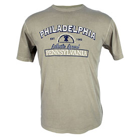City of Philadelphia Sandstone Liberty Bell T-Shirt