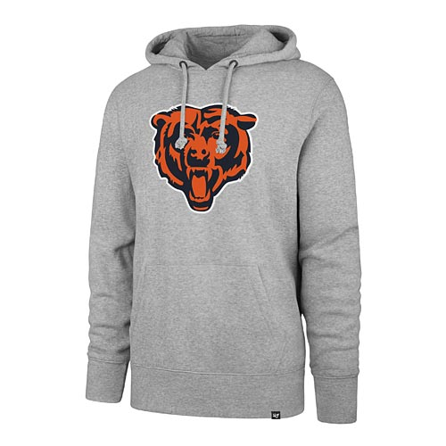 another chance ef598 65f65 Chicago Bears Bear Head Pullover Hooded Sweatshirt