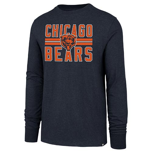 Chicago Bears Long Sleeve Club T-Shirt