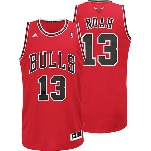 5d84ff1b9 Chicago Bulls Joakim Noah Youth Red Swingman Jersey