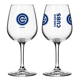 Chicago Cubs Gameday Wine Glass