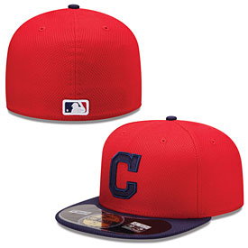 Cleveland Indians Authentic Collection Diamond Era 59FIFTY Game Cap