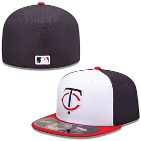 Minnesota Twins Authentic Collection Diamond Era 59FIFTY Home Cap