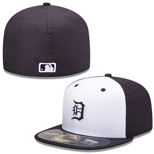 670aed9d277 Detroit Tigers Authentic Collection Diamond Era 59FIFTY Home Cap