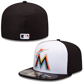 Miami Marlins Authentic Collection Diamond Era 59FIFTY Home Cap