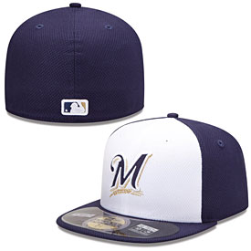 Milwaukee Brewers Authentic Collection Diamond Era 59FIFTY Game Cap
