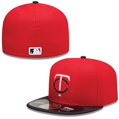 sports shoes c03f2 20266 Minnesota Twins Authentic Collection Diamond Era 59FIFTY Road Cap