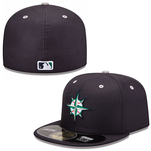 962efee7912 Seattle Mariners Authentic Collection Diamond Era 59FIFTY Game Cap