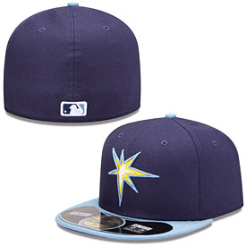 Tampa Bay Rays Authentic Collection Diamond Era 59FIFTY Game Cap