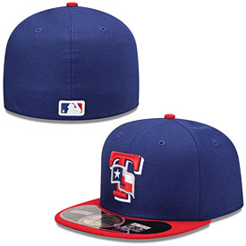 Texas Rangers Authentic Game Diamond Era 59FIFTY Cap