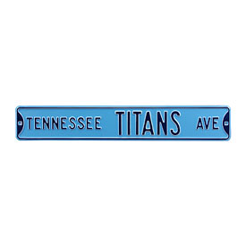 Tennessee Titans Ave. Street Sign