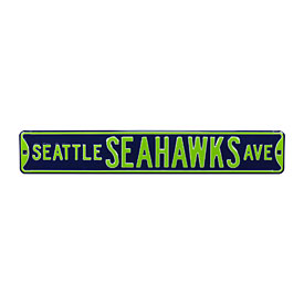 Seattle Seahawks Ave. Street Sign