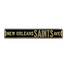 New Orleans Saints Ave. Street Sign
