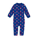Chicago Cubs Toddler Full-Zip Raglan Coverall