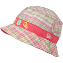 Chicago Cubs Infant Girls Madras Bucket Hat