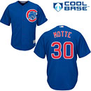 Chicago Cubs Jason Motte Youth Alternate Cool Base Replica Jersey