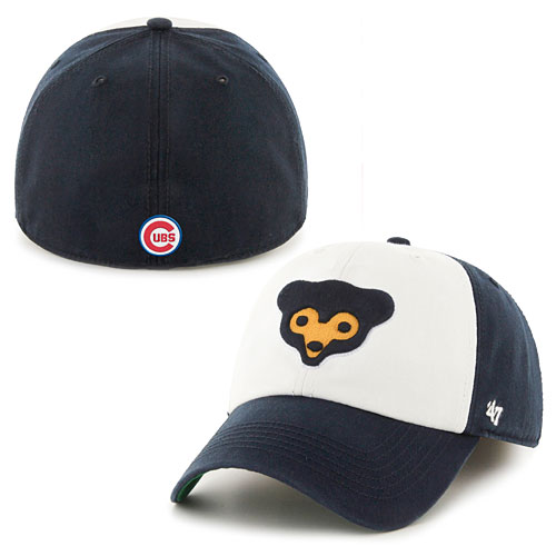 039e5f916dd19a Chicago Cubs 1969 Bear Face Freshman Franchise Fitted Cap
