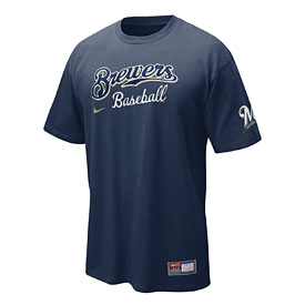 Milwaukee Brewers Practice T-Shirt