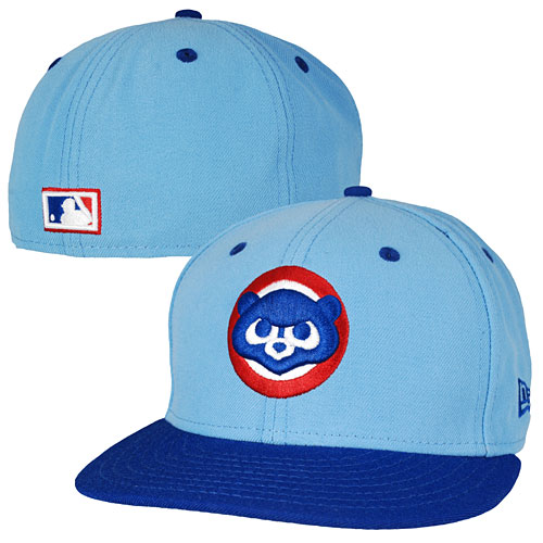 Chicago Cubs 1984 Logo Two-Tone 59 50 Fitted Cap e5391ffdfc7