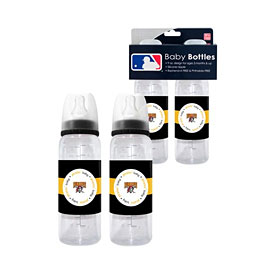 Pittsburgh Pirates 2 Pack of Baby Bottles