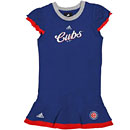 Chicago Cubs Preschool Girls Top and Skirt Set